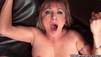 hot grandma luna azul keri russel nude loves cum on her face