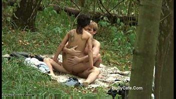 insest porn amateur fucking forest couple