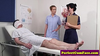 threeway xxc video nurse facialized with huge load