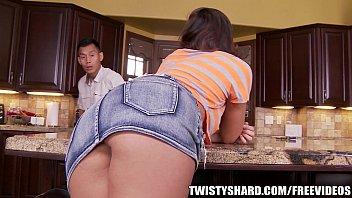 rilynn rae gives her school sex image plumber an upskirt view