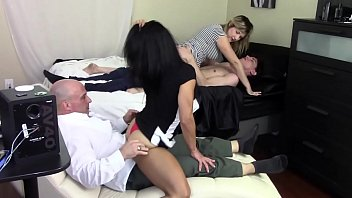 step mom grinds boys food com son s dick while step daughter grinds step daddy s dick family taboo