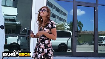 bangbros - the bang bus helping out an boy and girl blue film out of towner named kadence marie