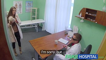 xxxx vides com fake hospital doctor denies antidepressants and prescribes a good licking and a