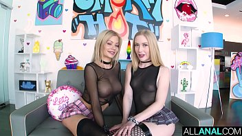 all anal atm threesome wwwwxxxx with blondes riley and emma