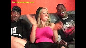 two black studs ladies fucking for a blonde