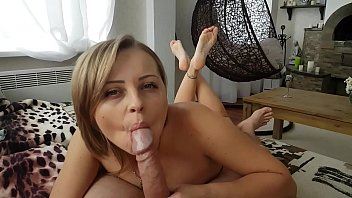 pron game an intense blowjob with cute little soles in the air