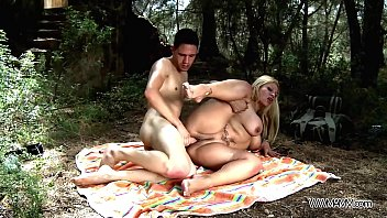 busty mom take stepson to the nature where brutally fuck watching porn with mom his big cock