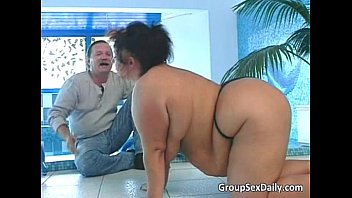 chubby brunette turjakan milf and her redhead