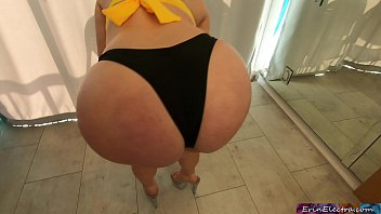 pronhd stepmom needs help with her bikini