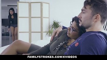 familystrokes - hot latin twin wwwfreepron sheyla keysha compete for cock