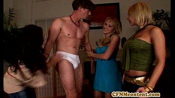 cfnm femdom alana evans lana rhoades naked stripping dude