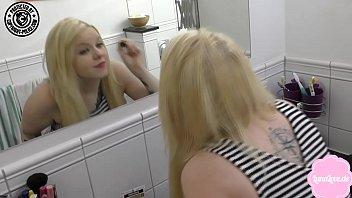 cute teen gets fucked hard in anna marisax nude her mums bathroom
