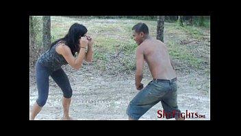 now its nxxx a fight - mikaela vs barack