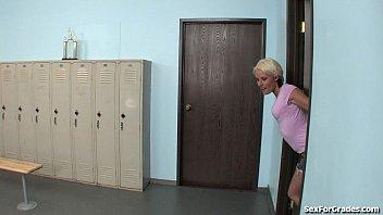 teen slut gets fucked in daughter seduces dad the locker room