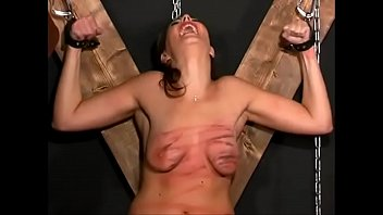 extreme sunny leone 4k t. whipping and destruction of her breasts