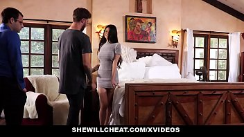 shewillcheat - unhappy wife fucks her boytoy sister fucking in front of husband