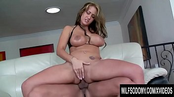 big tits milf trina michaels rubs her pierced pussy as sex vid3os her ass gets pounded