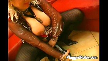 busty milf naked virgin girl dildoing her pierced pussy