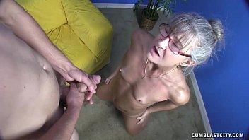 horny granny youjisz gets splattered