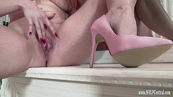 milf wanks naked in just nepali girl nude pink high heels