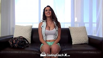 hd castingcouch-x - sexy come big tit ashley adams tries her first porn shoot