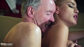 old man dominated by sexy hot babe in old young fucking gif femdom hardcore fucking