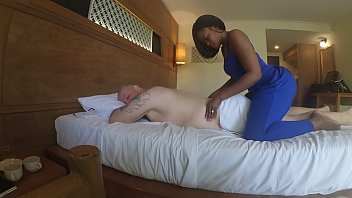 magic mike xxxl  a hardcore parody massage in africa with blowjob and cum eating