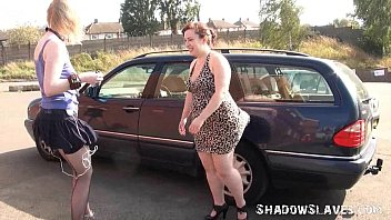 public bdsm and outdoor lesbian www badmasti com hd domination of humiliated blonde submissive babe