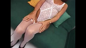 young madhuri dixit nude slut in white stockings gives a blow job