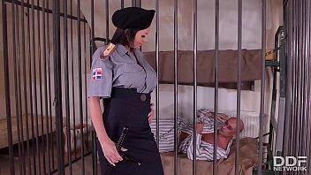 crazy hot prison guard patty michova xxxnn fucks prisoners big dick