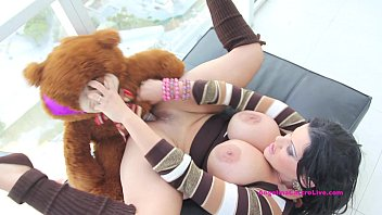 big titted angelina castro school sex gril has sex with teddy bear