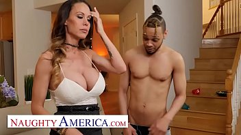 very hot hot sex video naughty america - mckenzie lee won t let her son s friend s big cock go unfucked