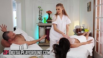 sexy spa day with sexy babes katana fucing kombat and sophie sparks - digital playground