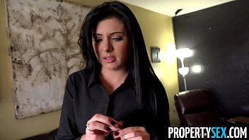 propertysex - girl bubs pretty real estate agent with southern accent fucks her client