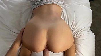 blonde babe amateur college lela star creampie sex tape