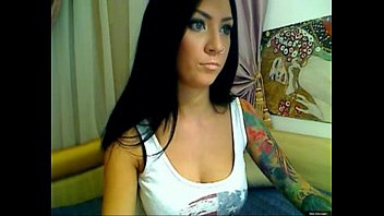 tatto pussy pourn girl rubs her pussy