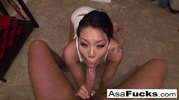 asa akira sucks a six bf big cock