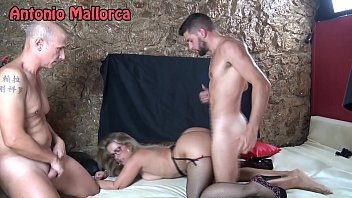 sexi move hd fucking a milf in front of her cuckold husband in a swinger club