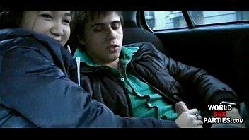 giral sex backseat bj