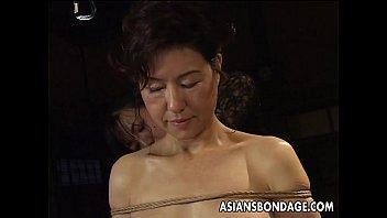 sexx movies asian babe in rope bondage scene