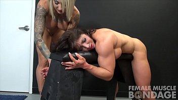 muscle female lesbian porn neked sex stars dani and brandimae