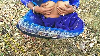 indian punyu2 munyu village lady with natural hairy pussy outdoor sex desi radhika
