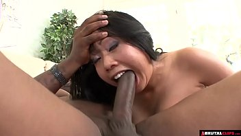 bbw asian destroyed by anna marisax nude big black cock