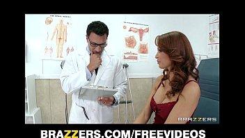 hot redhead milf monique alexander gets sexbluefilm a checkup