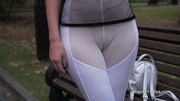 see-through outfit xxxhot in public