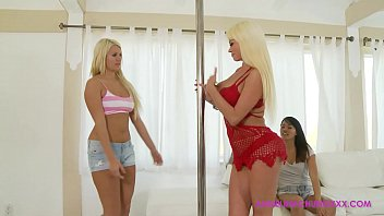angelina chung laela pryce dot com sexy nikita von james blonde goodness
