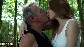 sexy young redhead www fuck vedio com seducing grandpa and has incredible sex with him