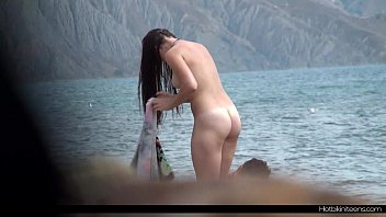 nude couple brother sister sleeping sex at the beach