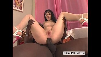 stepmomsex big black cock fucking a horny brunette in the ass mg-1-01