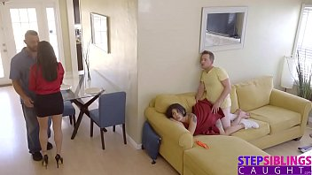 stepsiblingscaught - cumming inside my monkey voyeur stepsis during movie s8 e1